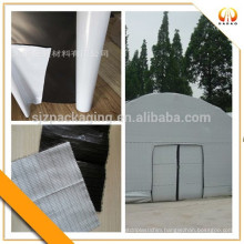 125mic white |black|white ABA film for greenhouse